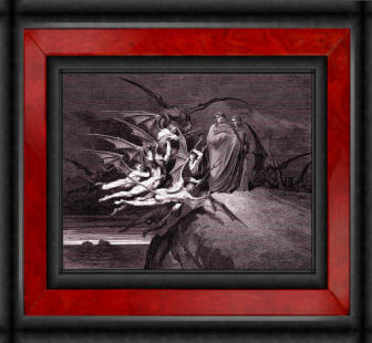 Dore Dante's Inferno Illustration Print Collection by Timecamera 01