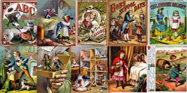 Disc or Download Vols1-3 PRINTS MAKE SELL ANTIQUE CHILDREN/'S BOOK ILLUSTS
